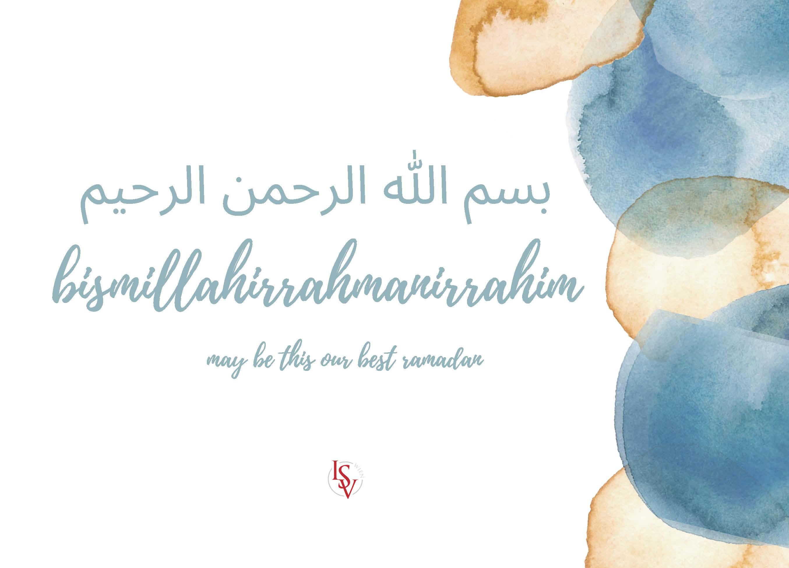ISV Ramadan Planer